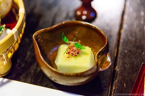 appetizer at Shinmei-kan 山の宿 新明館 Kurokawa Onsen Travel Guide   justonecookbook.com