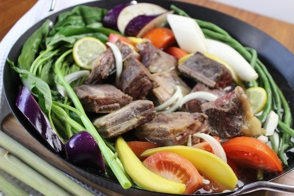 Beef Ribs Sinigang With Lemongrass My Mothers Philippines Recipes cookbook