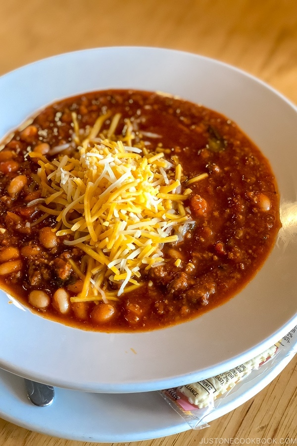 Elk Chili at Bryce Canyon Lodge - Bryce Canyon National Park Travel Guide | justonecookbook.com