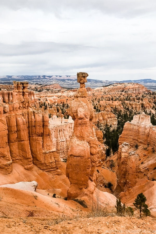 Thors Hammer - Bryce Canyon National Park Travel Guide | justonecookbook.com