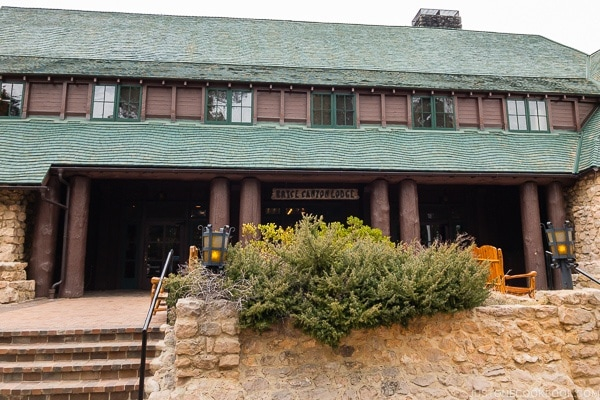 the front of Bryce Canyon Lodge - Bryce Canyon National Park Travel Guide | justonecookbook.com