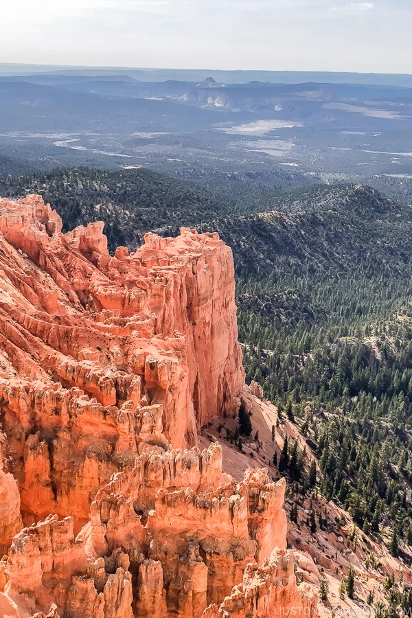 view from Yovimpa Point - Bryce Canyon National Park Travel Guide | justonecookbook.com