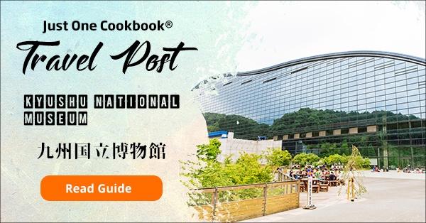 Kyushu National Museum - Fukuoka Travel Guide   justonecookbook.com