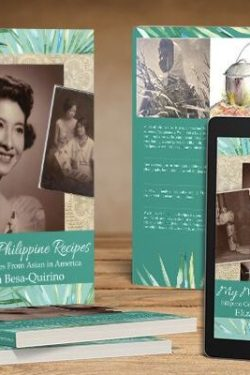 My Mother's Philippine Recipes Cookbook giveaway