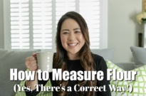 How to Measure Flour (Yes, There's a Correct Way) – Tea Time with Nami (Ep 2)
