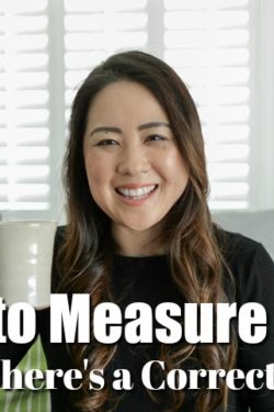How to Measure Flour - Tea Time with Nami