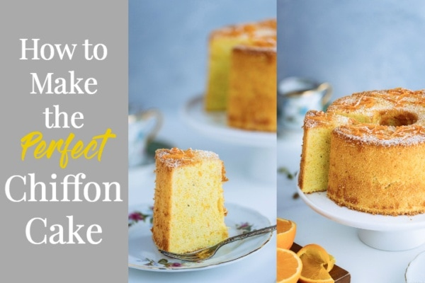 How to Make the Perfect Chiffon Cake