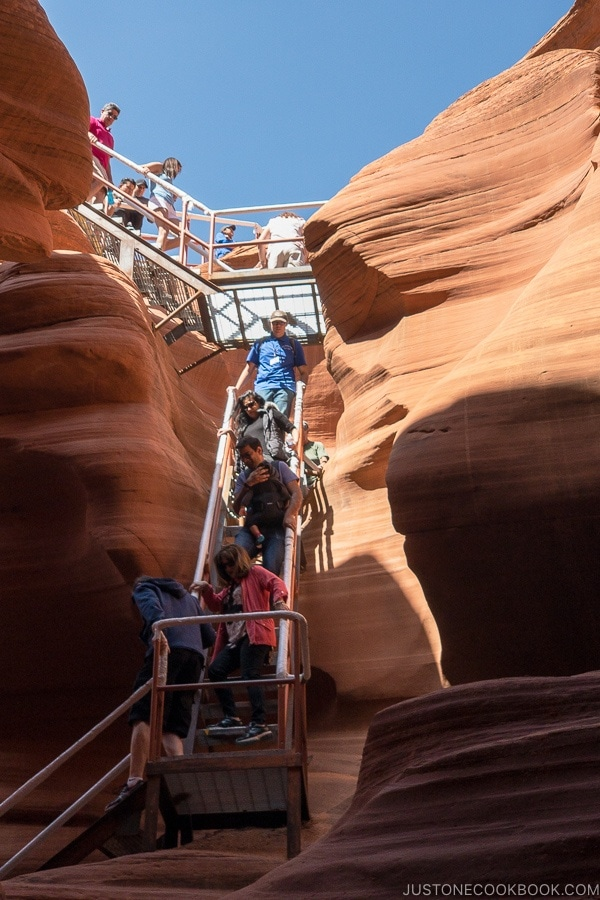 Lower Antelope Canyon - The Photo Tour • Just One Cookbook Antelope Canyon