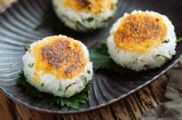Miso Yaki Onigiri (Grilled Rice Balls) 味噌焼きおにぎり