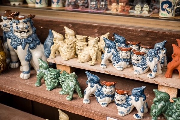 porcelain shisa for sale - Okinawa World | justonecookbook.com