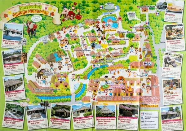 Ryukyu Mura Map | justonecookbook.com