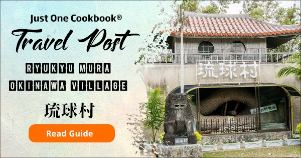 Ryukyu Mura travel guide | justonecookbook.com