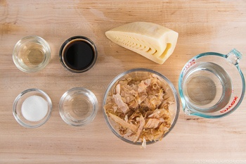Simmered Bamboo Shoots Ingredients