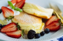 Japanese Souffle Pancake スフレパンケーキ