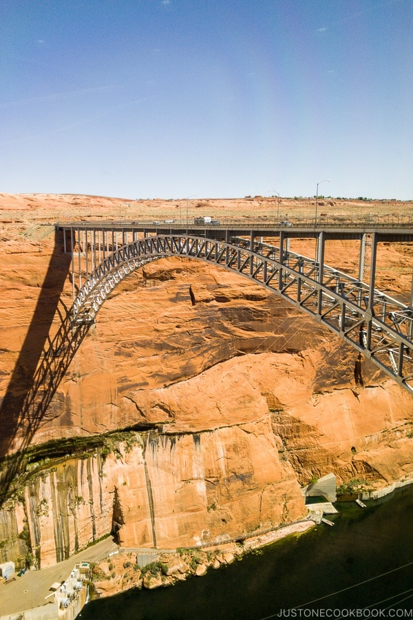 Glen Canyon Dam Bridge - Carl Hayden Visitor Center | justonecookbook.com