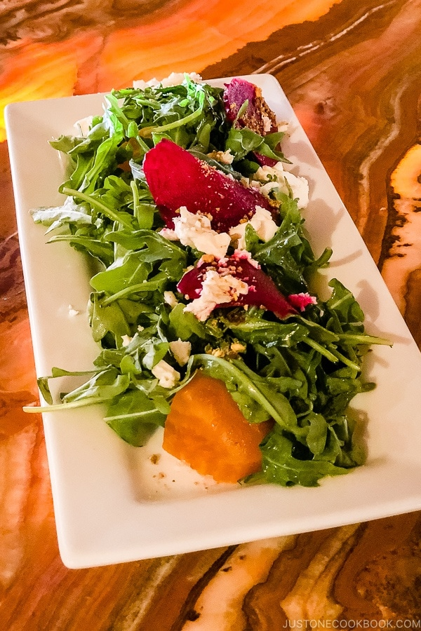 salad at Sego Kanab Utah | justonecookbook.com