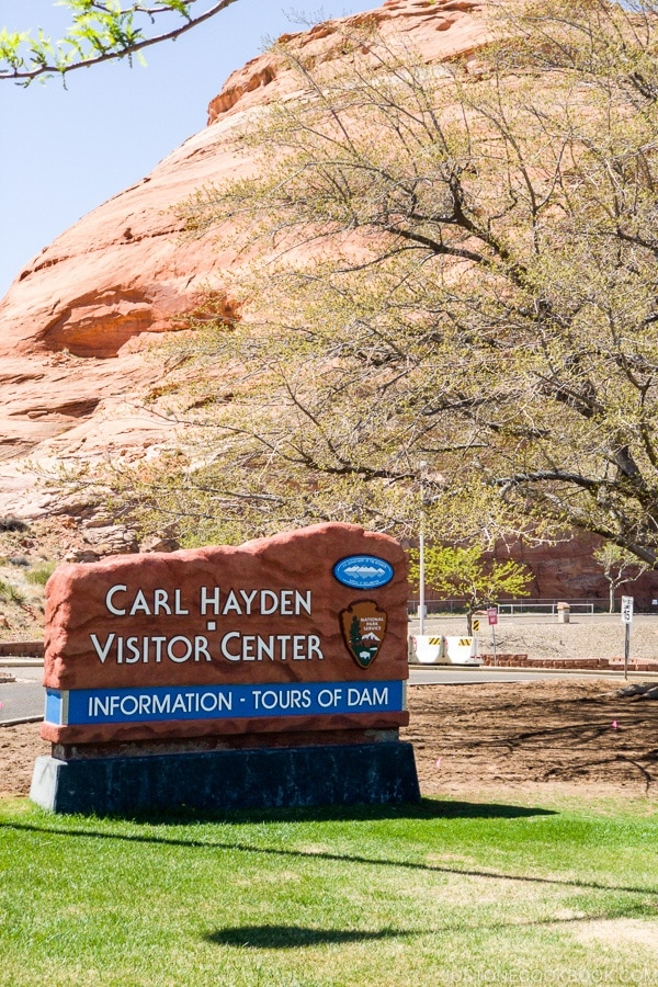 Glen Canyon Dam - Carl Hayden Visitor Center | justonecookbook.com