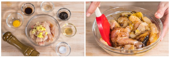 Chinese-style Chicken Karaage Donburi 4