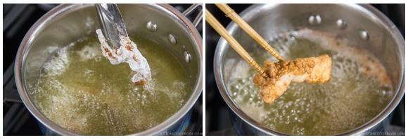 Chinese-style Chicken Karaage Donburi 8