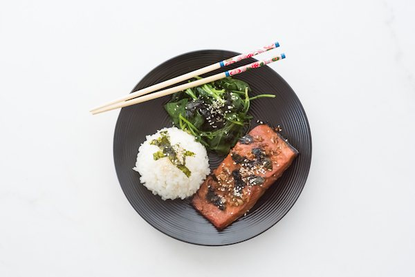 Explore Japan Cooking Kit giveaway_salmon teriyaki