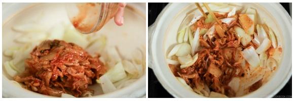 Kimchi Gyoza Nabe 10