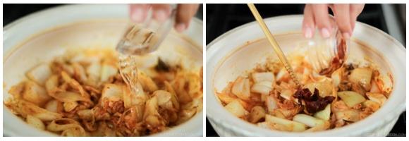 Kimchi Gyoza Nabe 11