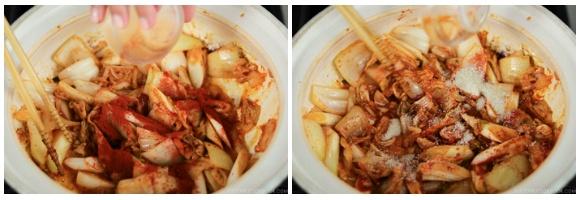Kimchi Gyoza Nabe 12
