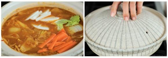Kimchi Gyoza Nabe 15