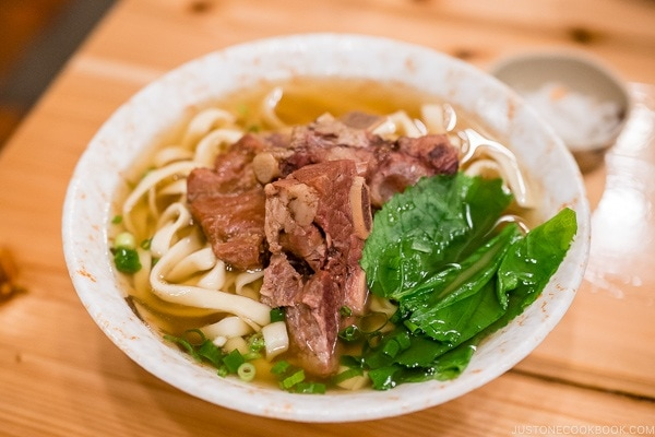 Nagumagai Restaurant Okinawa soba - Okinawa Travel Guide | justonecookbook.com