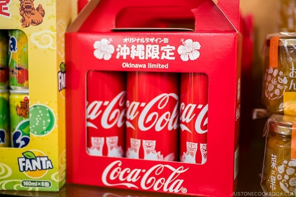 Okinawa coke can - Okinawa Travel Guide | justonecookbook.com
