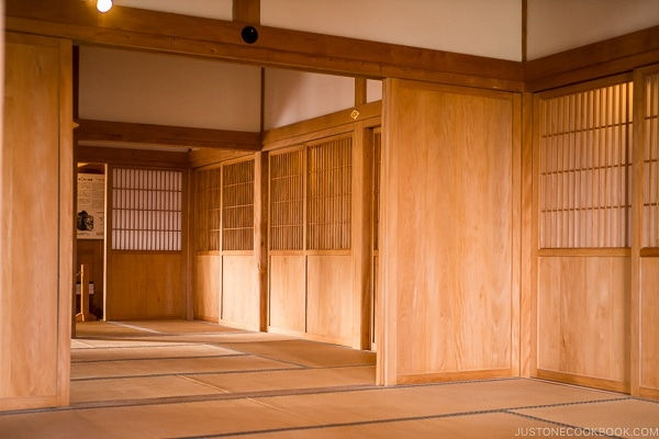 royal study and business rooms at Shuri Castle - Okinawa Travel Guide | justonecookbook.com