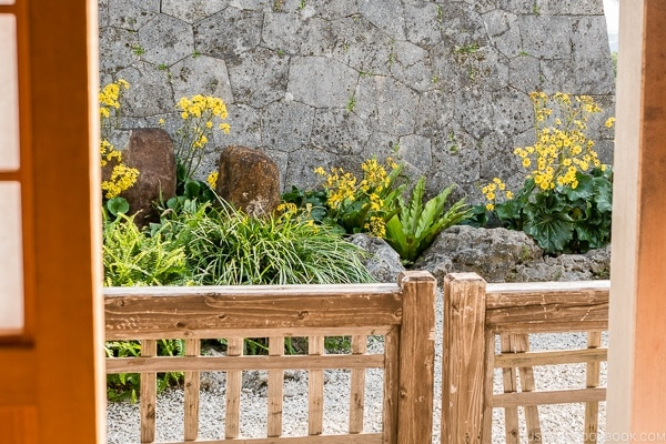 garden at Shuri Castle - Okinawa Travel Guide | justonecookbook.com