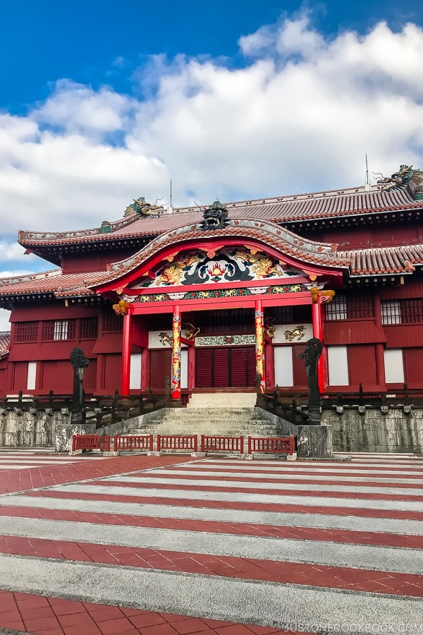 Shuri Castle Okinawa Travel Guide | justonecookbook.com