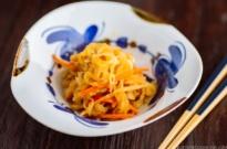 Simmered Kiriboshi Daikon 切り干し大根の煮物