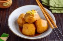 Simmered Taro (Satoimo no Nimono) 里芋の煮物