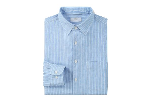 Uniqlo Men Premium Linen Shirt