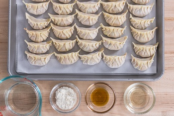 Gyoza with Wings Ingredients