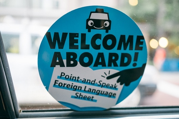 "Welcome Aboard ""Point and Speak Foreign Language Sheet"""