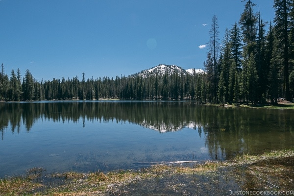 Summit Lake - Lassen Volcanic National Park Travel Guide | justonecookbook.com