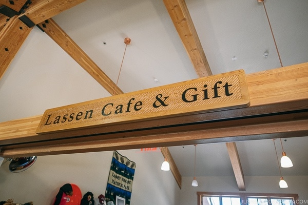 Lassen Cafe and Gift at Kohm Yah-mah-nee Visitor Center - Lassen Volcanic National Park Travel Guide | justonecookbook.com