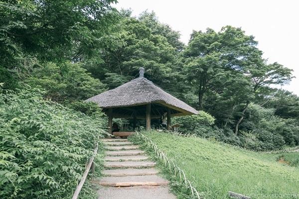 gazebo azumaya in Meiji Jingu Gyoen - Meiji Jingu Guide | justonecookbook.com
