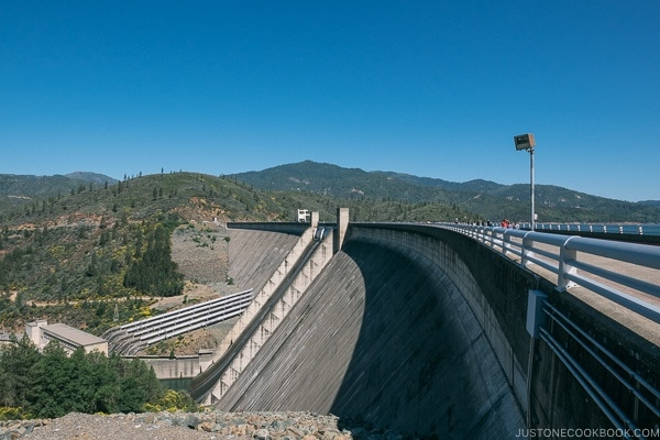 Shasta Dam - Redding California Travel Guide | justonecookbook.com