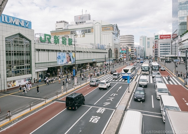 Shinjuku Station - Shinjuku Travel Guide | justonecookbook.com
