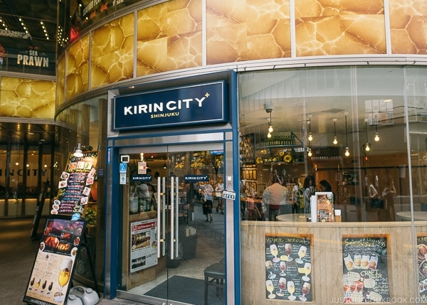 Kirin City - Shinjuku Travel Guide | justonecookbook.com