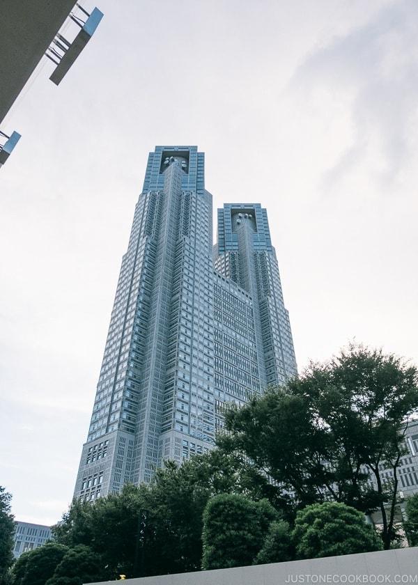 Tokyo Metropolitan Government Building - Shinjuku Travel Guide | justonecookbook.com