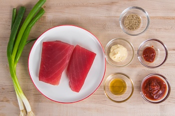 Spicy Tuna Ingredients