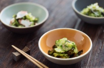 Sunomono (Japanese Cucumber Salad) 酢の物
