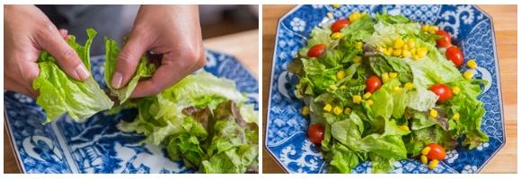 Tofu Salad with Sesame Ponzu Dressing 6