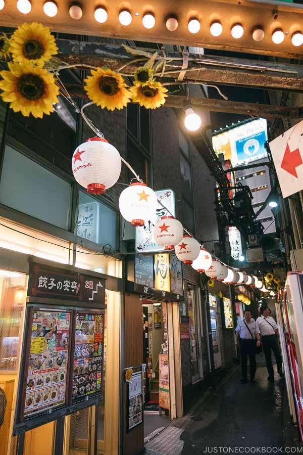 Yakitori alley Memory Lane Shinjuku - Shinjuku Travel Guide | justonecookbook.com