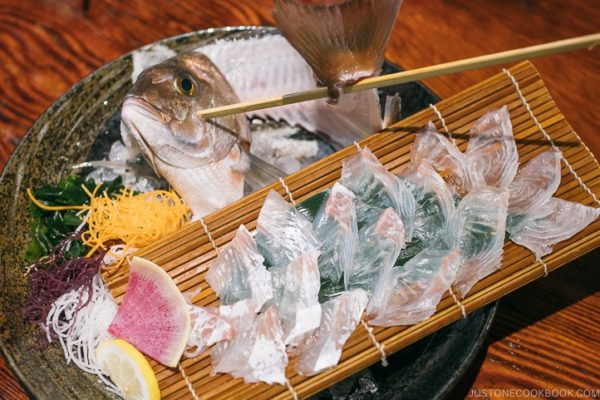 Zauo Shinjuku Sashimi - Shinjuku Travel Guide | justonecookbook.com